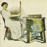 <b>История возникновения стиральной машинки